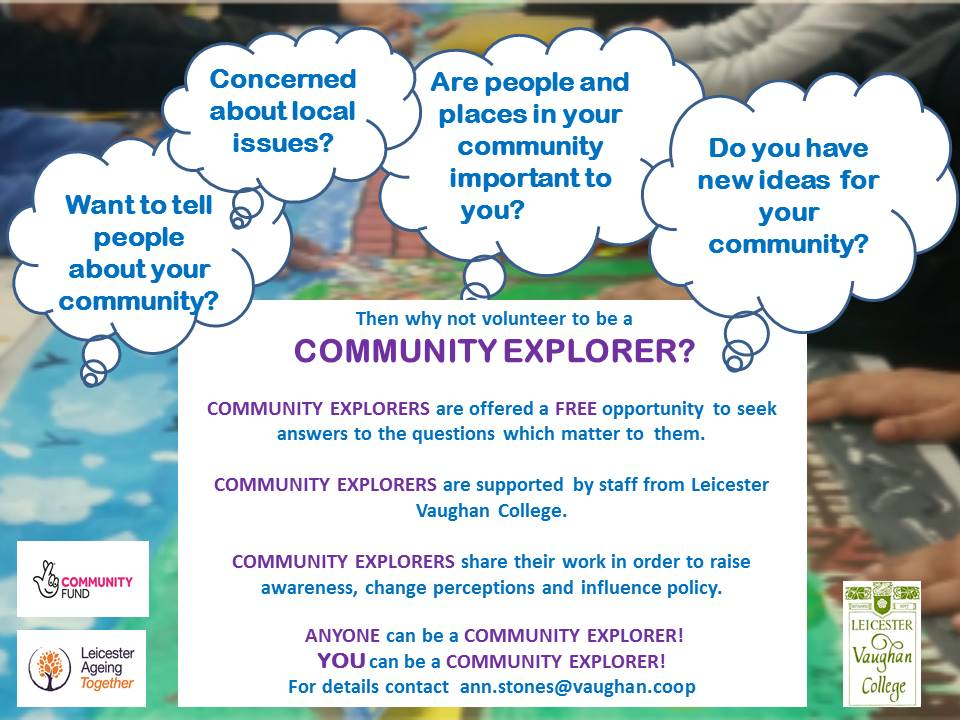 Leicester Aging Together (LAT) Community Explorers Project